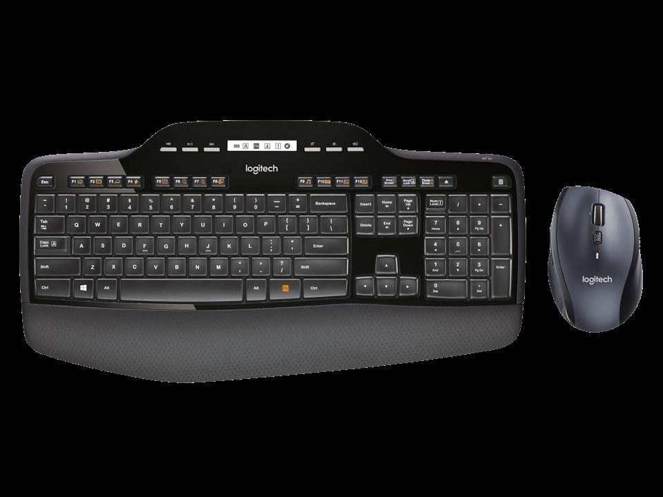 Microsoft Sculpt Ergonomic Desktop sett med tastatur, mus og talltastatur